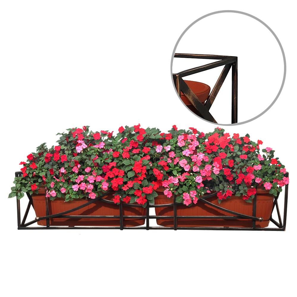 Подставка на балкон под цветы