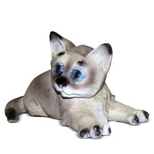 садовая фигурка котенок