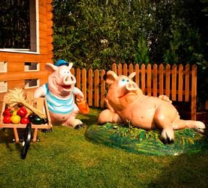 Комплект фигур свинки