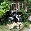 Садовые фигура птицы